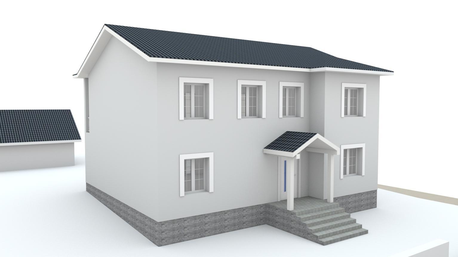 Návrh fasády rodinného domu Bratislava - Obrázok č. 12