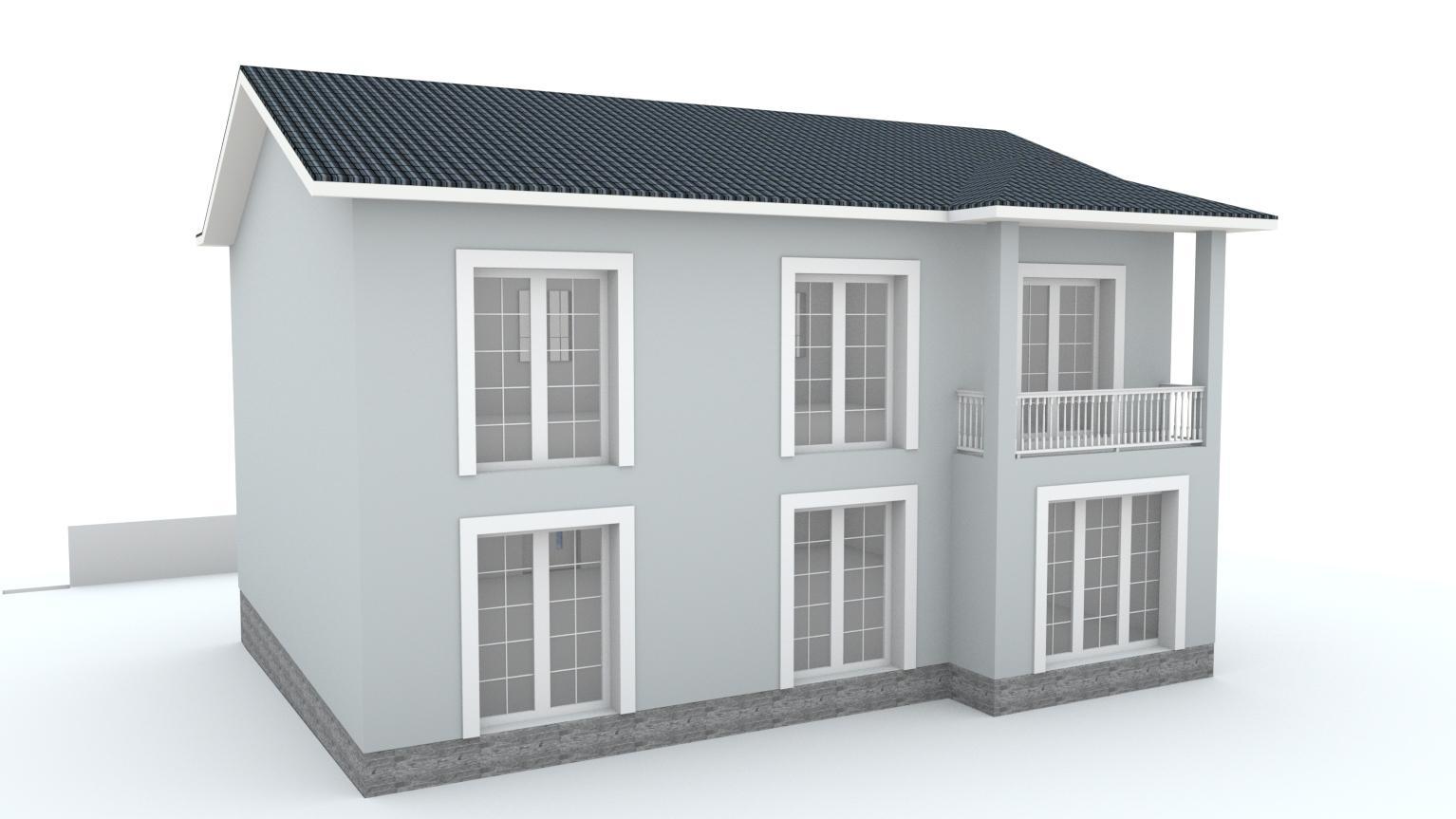 Návrh fasády rodinného domu Bratislava - Obrázok č. 13