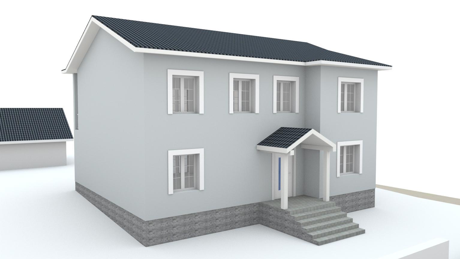 Návrh fasády rodinného domu Bratislava - Obrázok č. 14