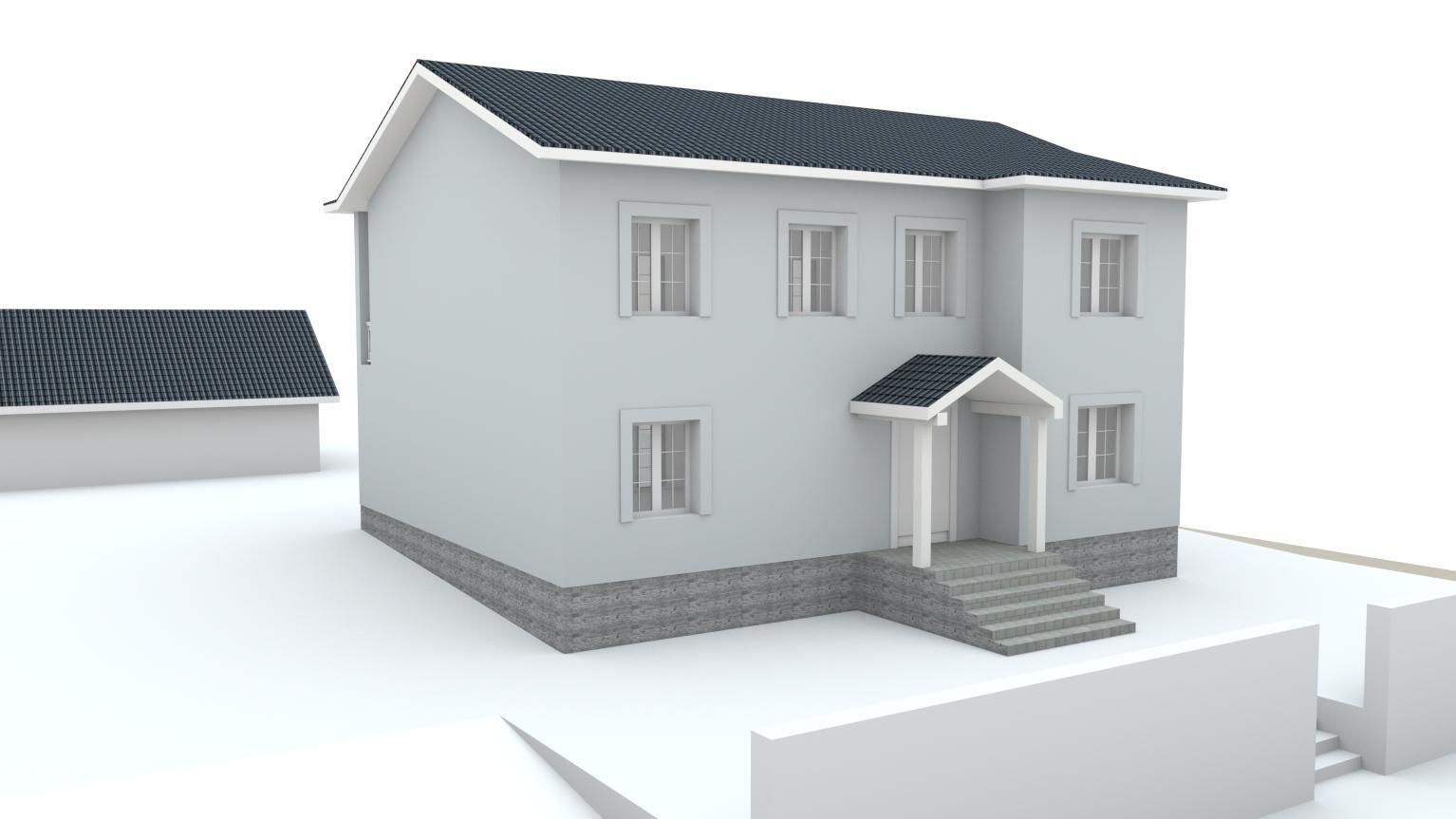 Návrh fasády rodinného domu Bratislava - Obrázok č. 15