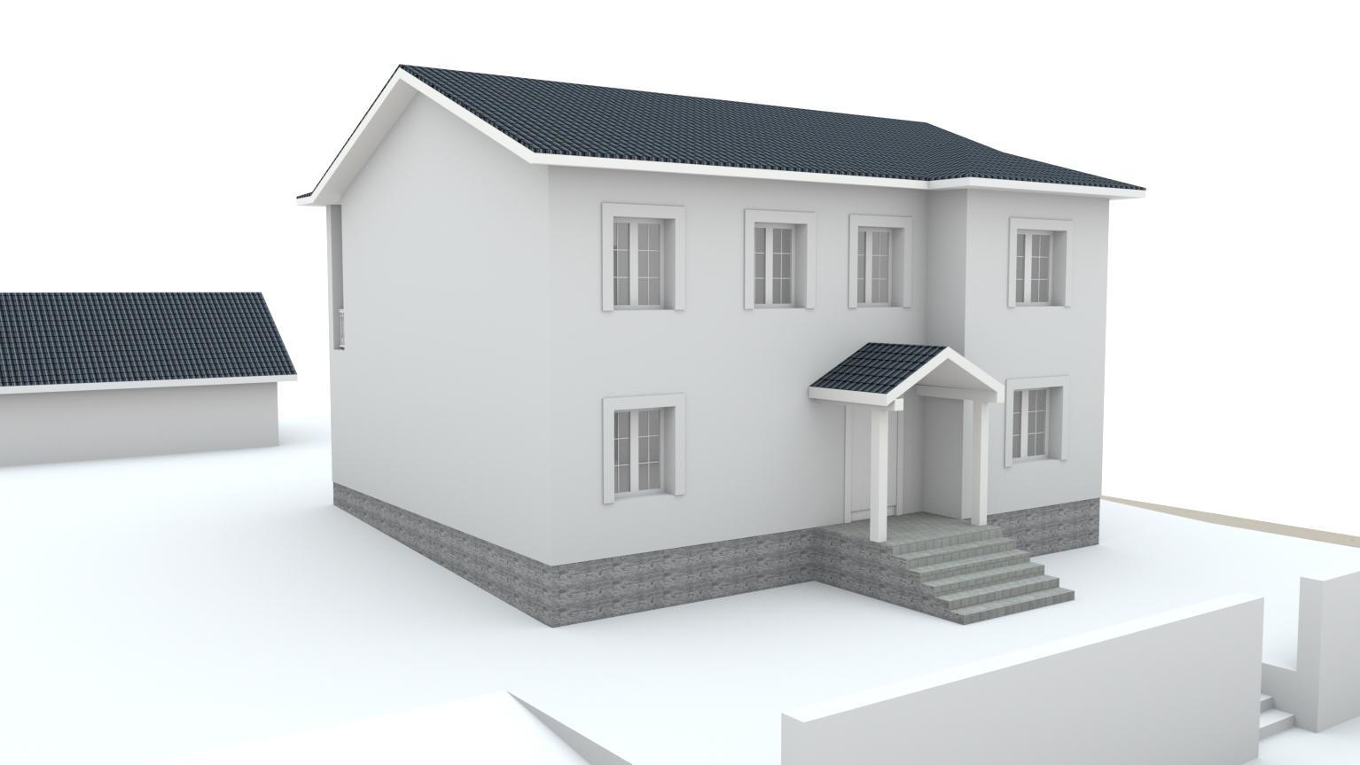 Návrh fasády rodinného domu Bratislava - Obrázok č. 17