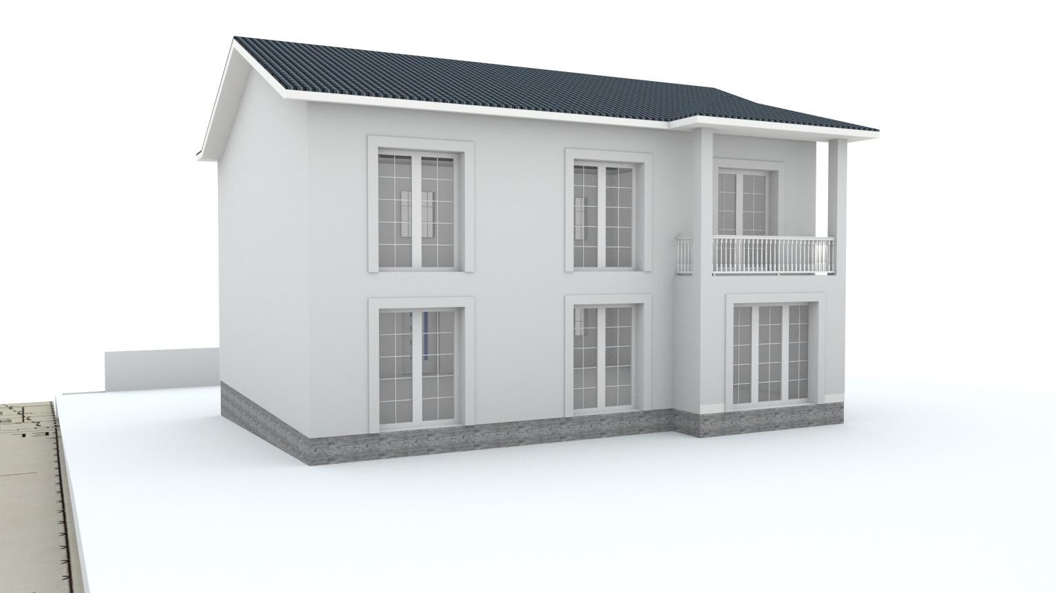 Návrh fasády rodinného domu Bratislava - Obrázok č. 18