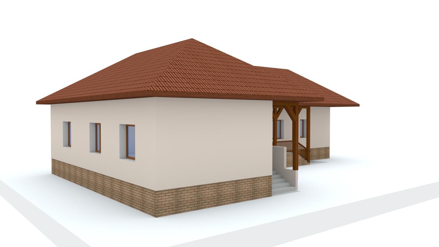 Návrh fasády rodinného domu - Obrázok č. 1