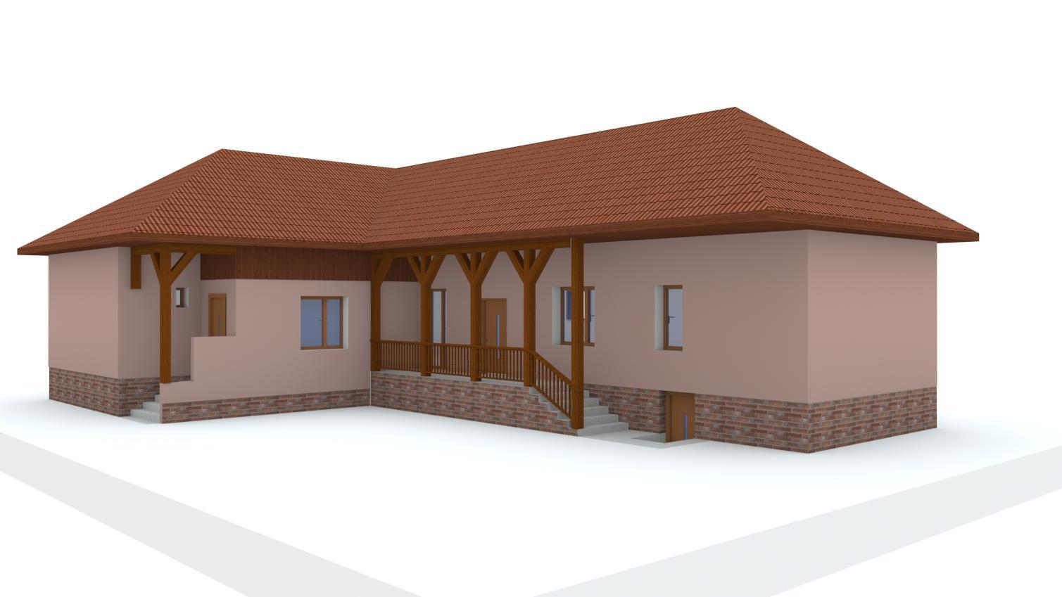Návrh fasády rodinného domu - Obrázok č. 4