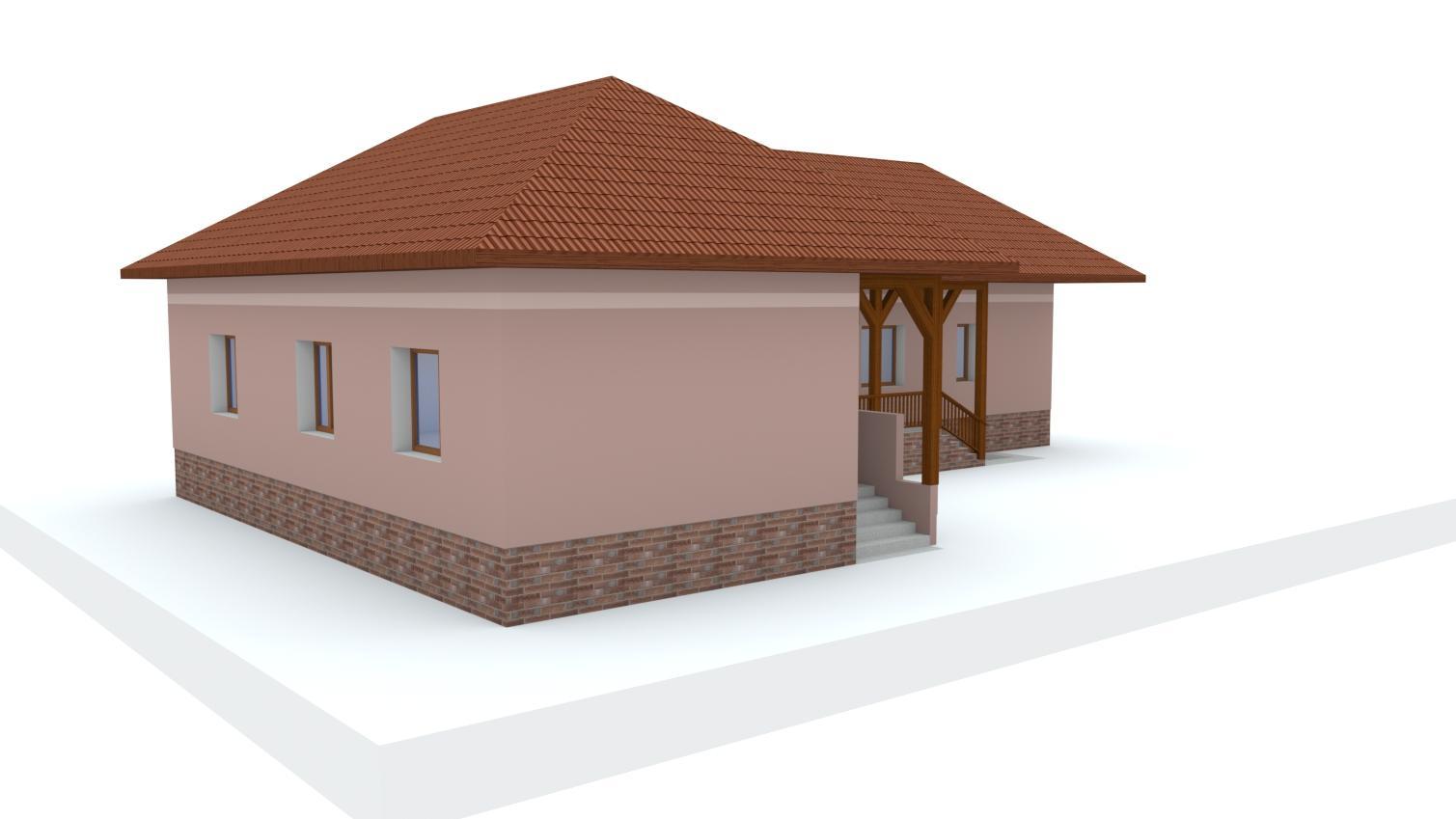 Návrh fasády rodinného domu - Obrázok č. 5