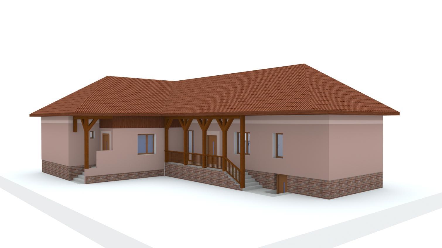Návrh fasády rodinného domu - Obrázok č. 6