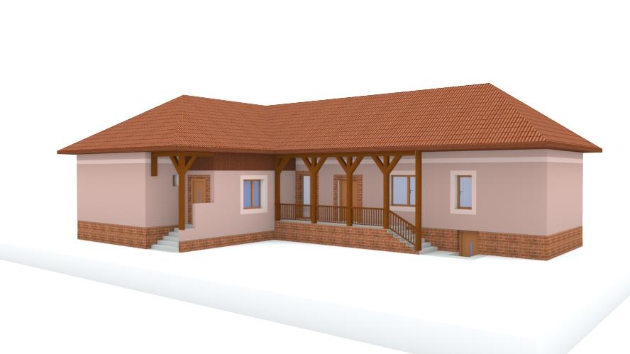 Návrh fasády rodinného domu - Obrázok č. 9
