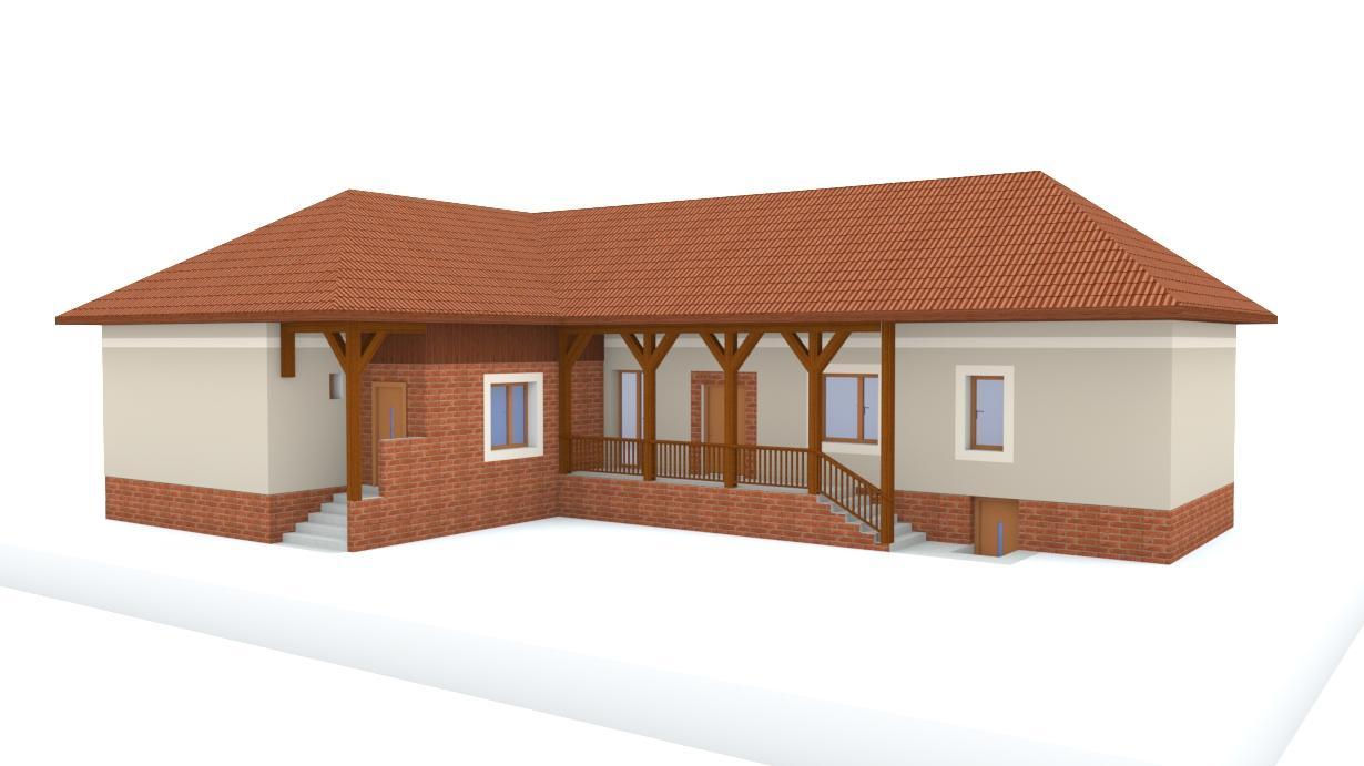 Návrh fasády rodinného domu - Obrázok č. 14