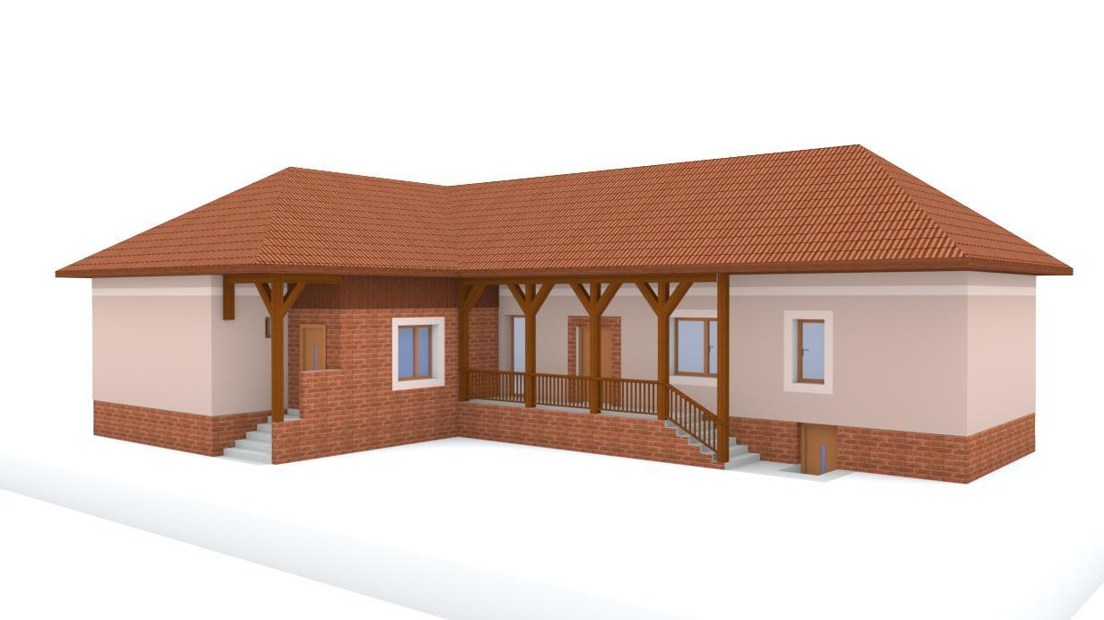 Návrh fasády rodinného domu - Obrázok č. 17