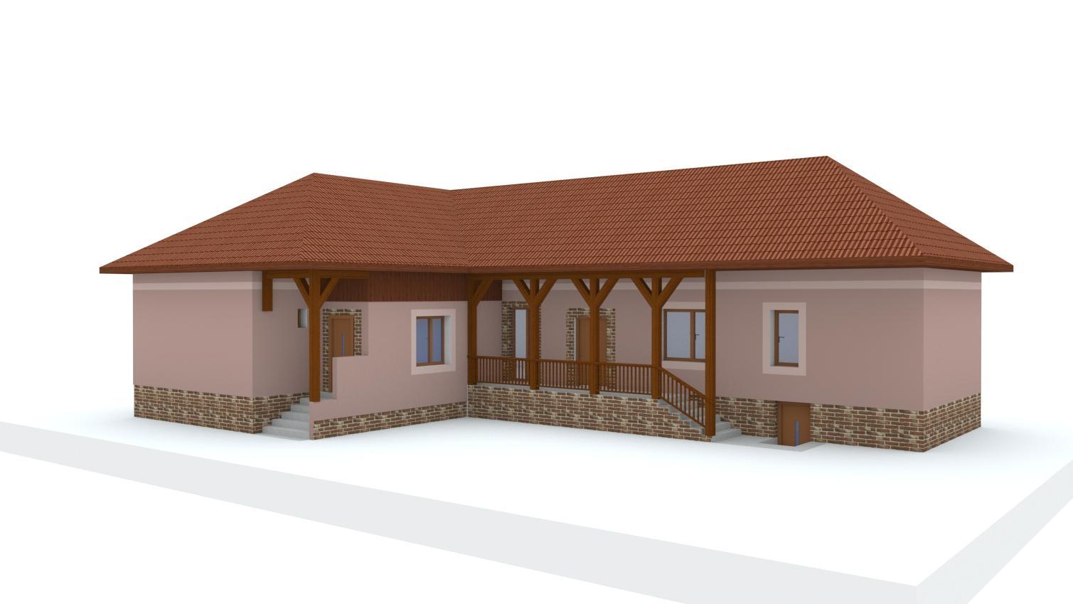 Návrh fasády rodinného domu - Obrázok č. 19