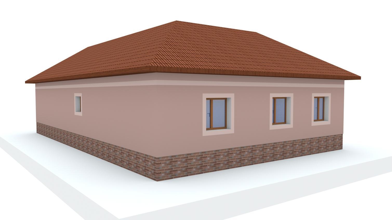 Návrh fasády rodinného domu - Obrázok č. 21