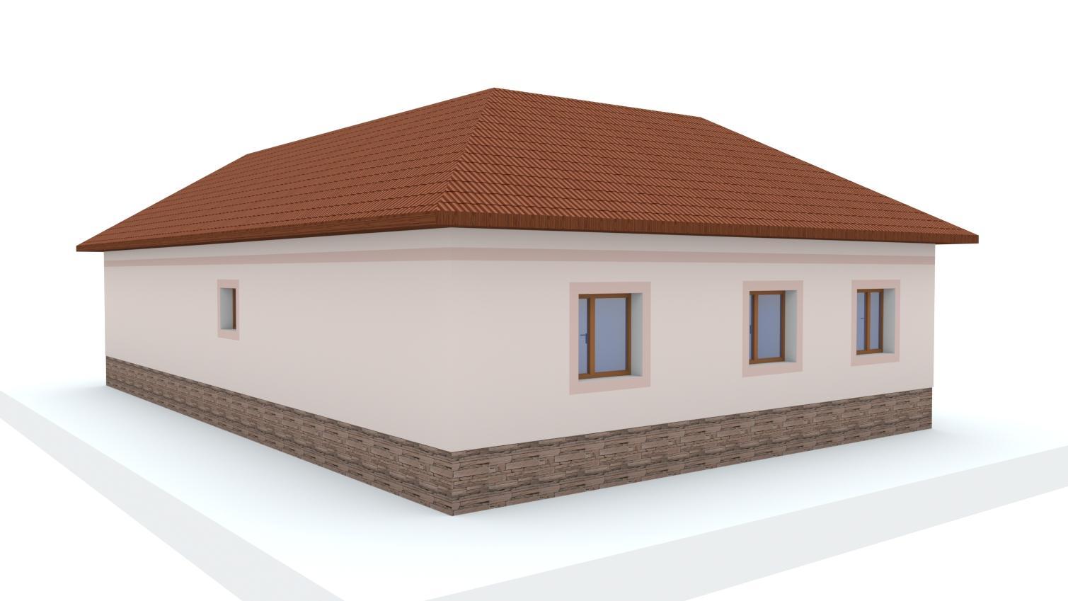 Návrh fasády rodinného domu - Obrázok č. 23