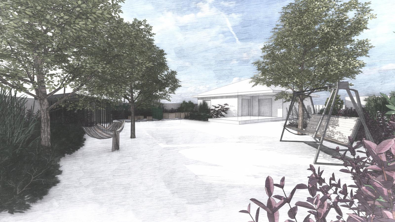 Návrh záhrady rodinného domu - Obrázok č. 1