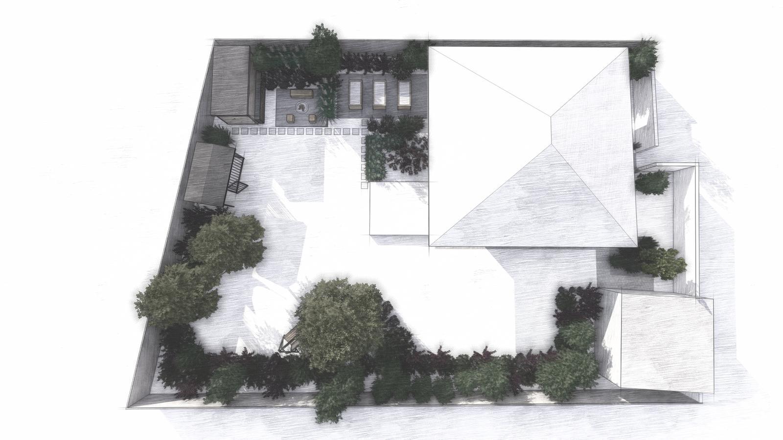 Návrh záhrady rodinného domu - Obrázok č. 2