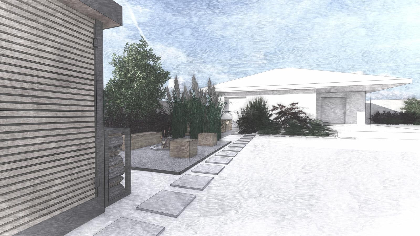 Návrh záhrady rodinného domu - Obrázok č. 5