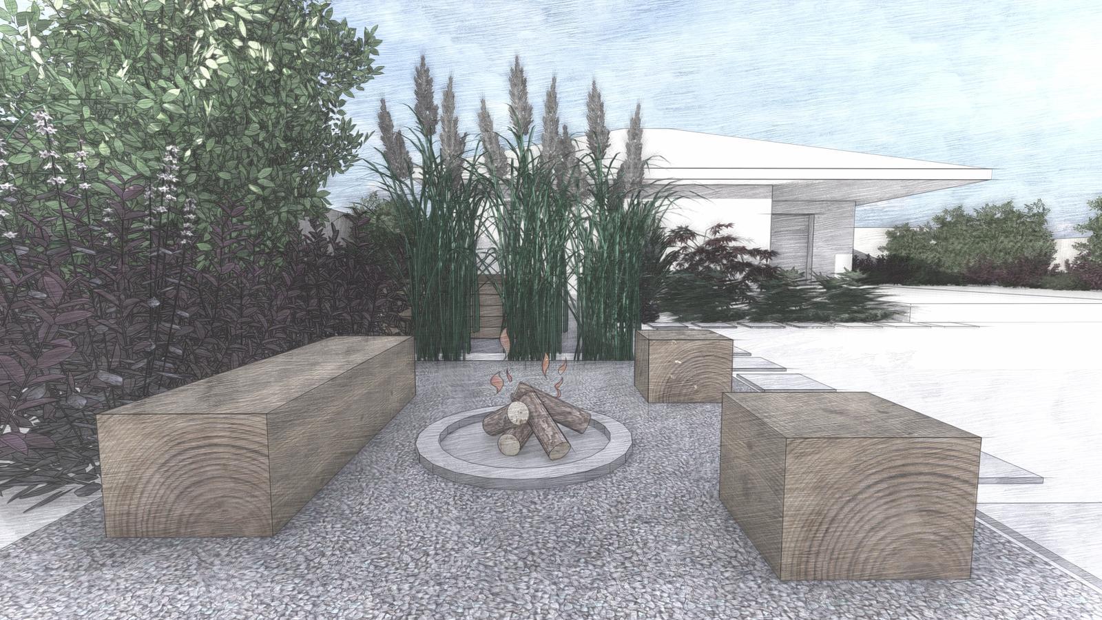 Návrh záhrady rodinného domu - Obrázok č. 6