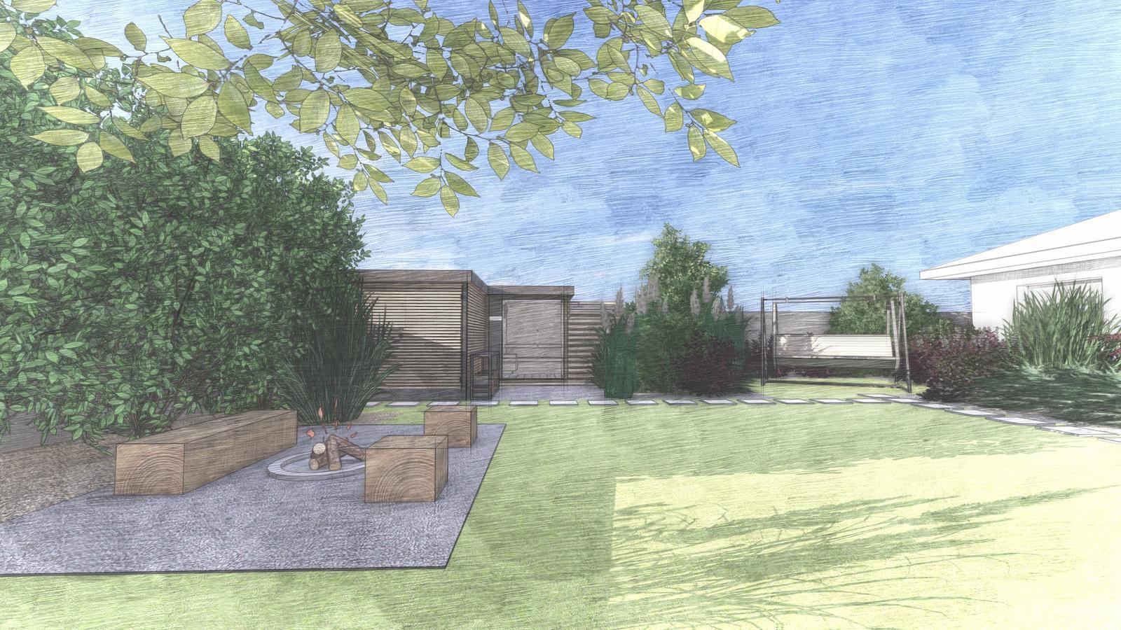 Návrh záhrady rodinného domu - Obrázok č. 9