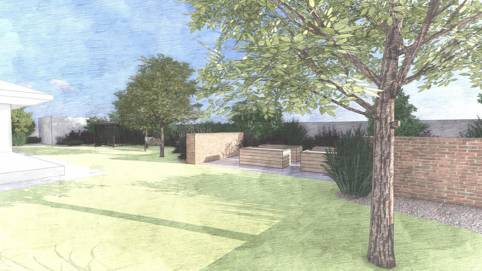 Návrh záhrady rodinného domu - Obrázok č. 12