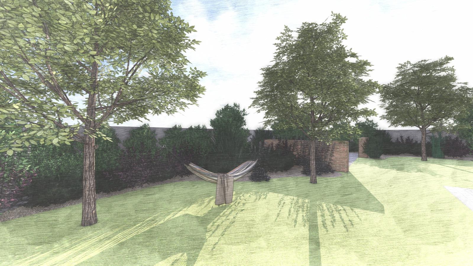 Návrh záhrady rodinného domu - Obrázok č. 13