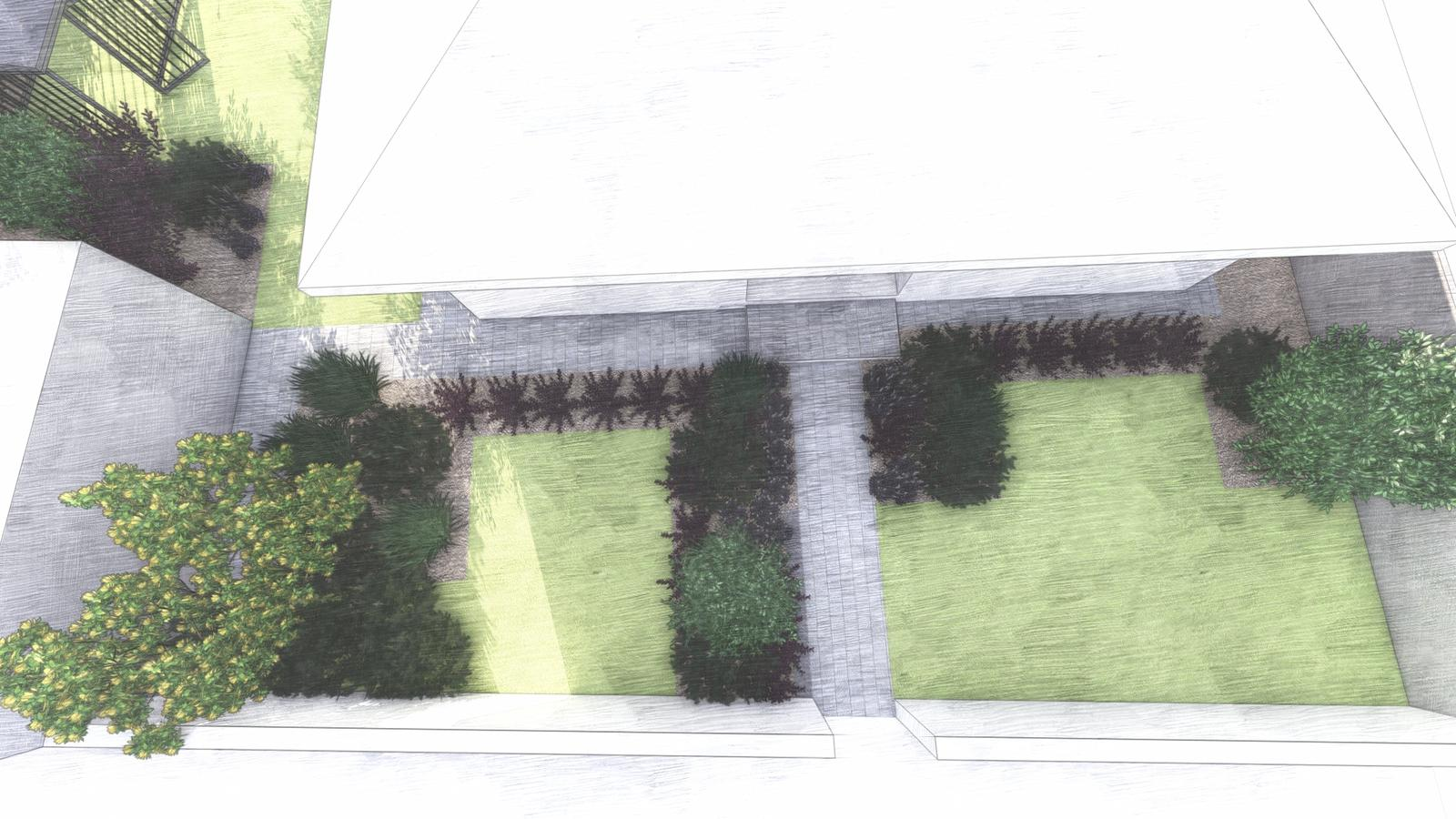 Návrh záhrady rodinného domu - Obrázok č. 14