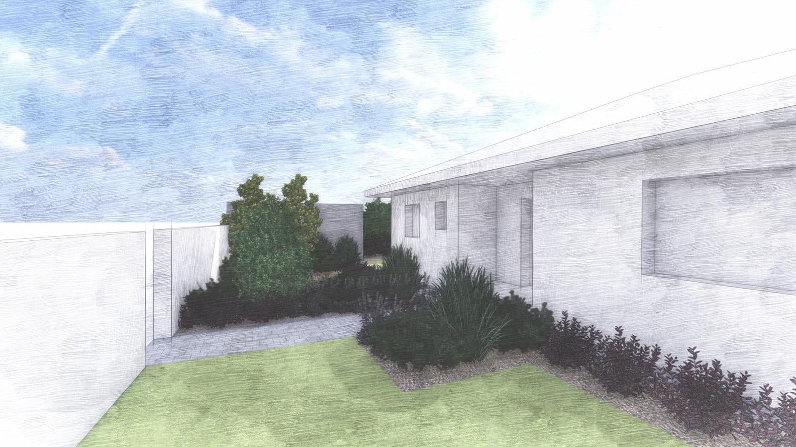 Návrh záhrady rodinného domu - Obrázok č. 15