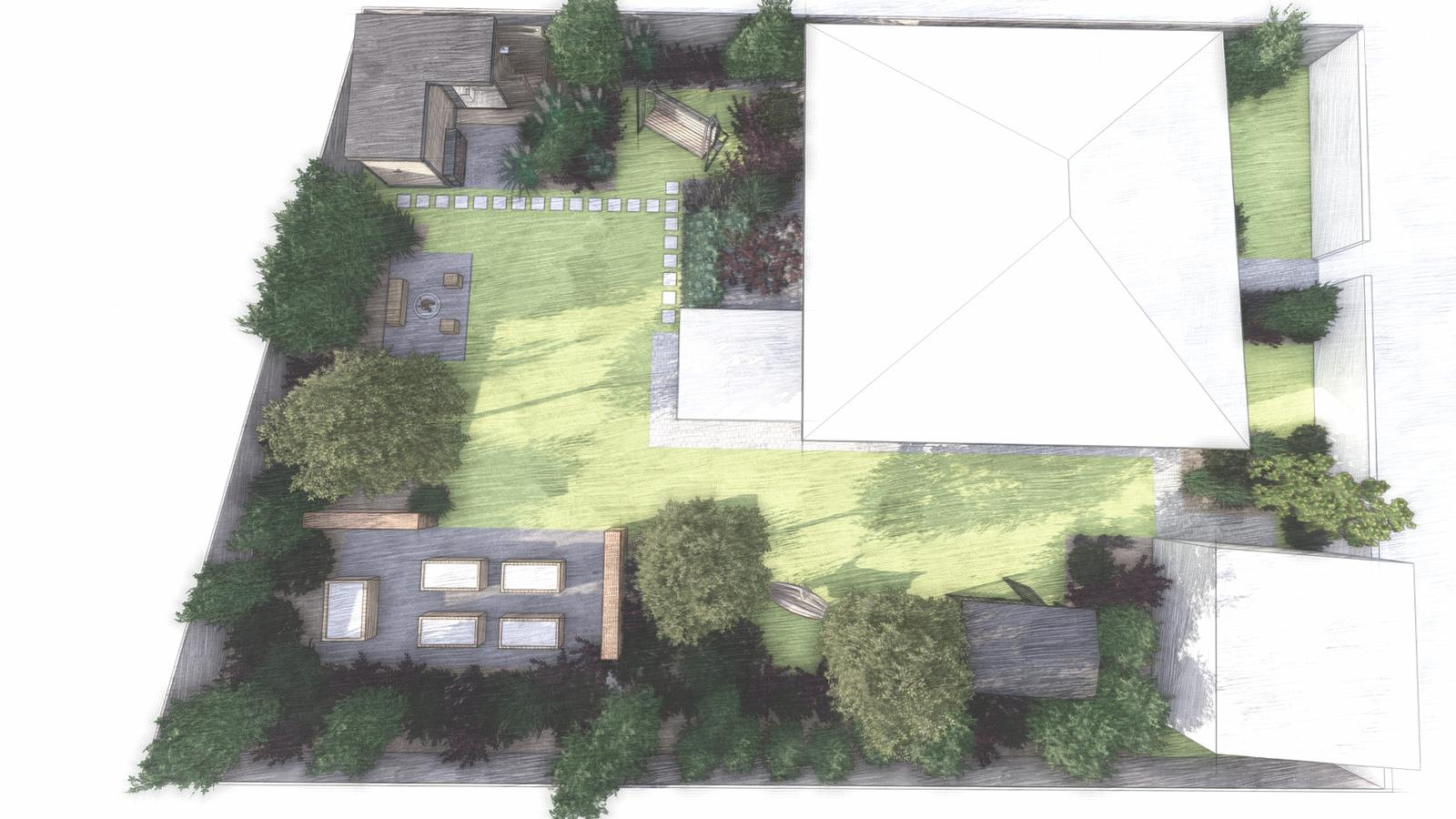 Návrh záhrady rodinného domu - Obrázok č. 16