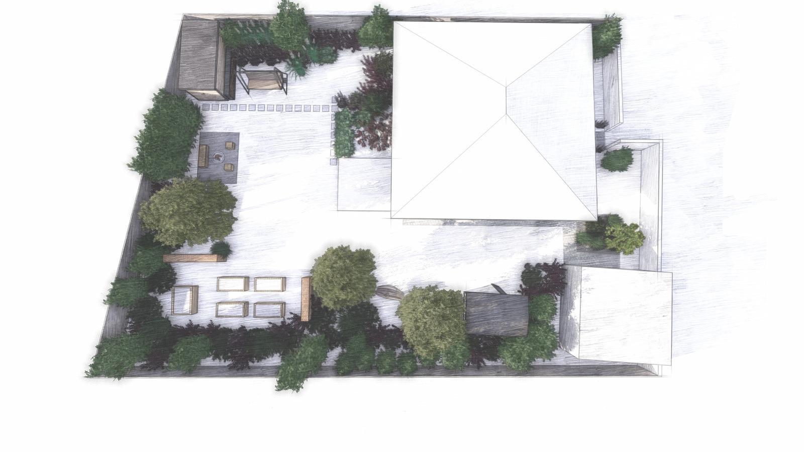 Návrh záhrady rodinného domu - Obrázok č. 17