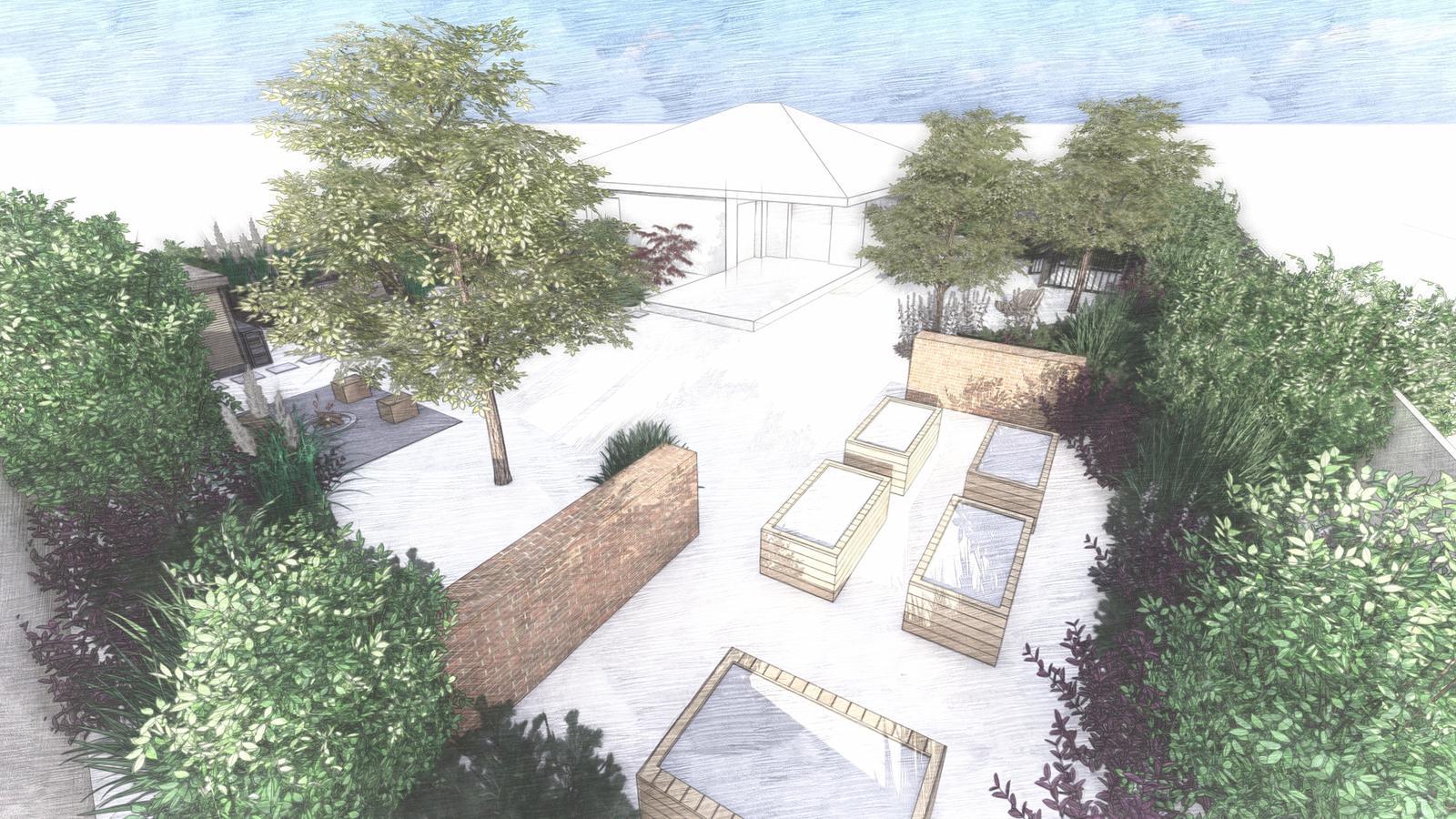Návrh záhrady rodinného domu - Obrázok č. 18