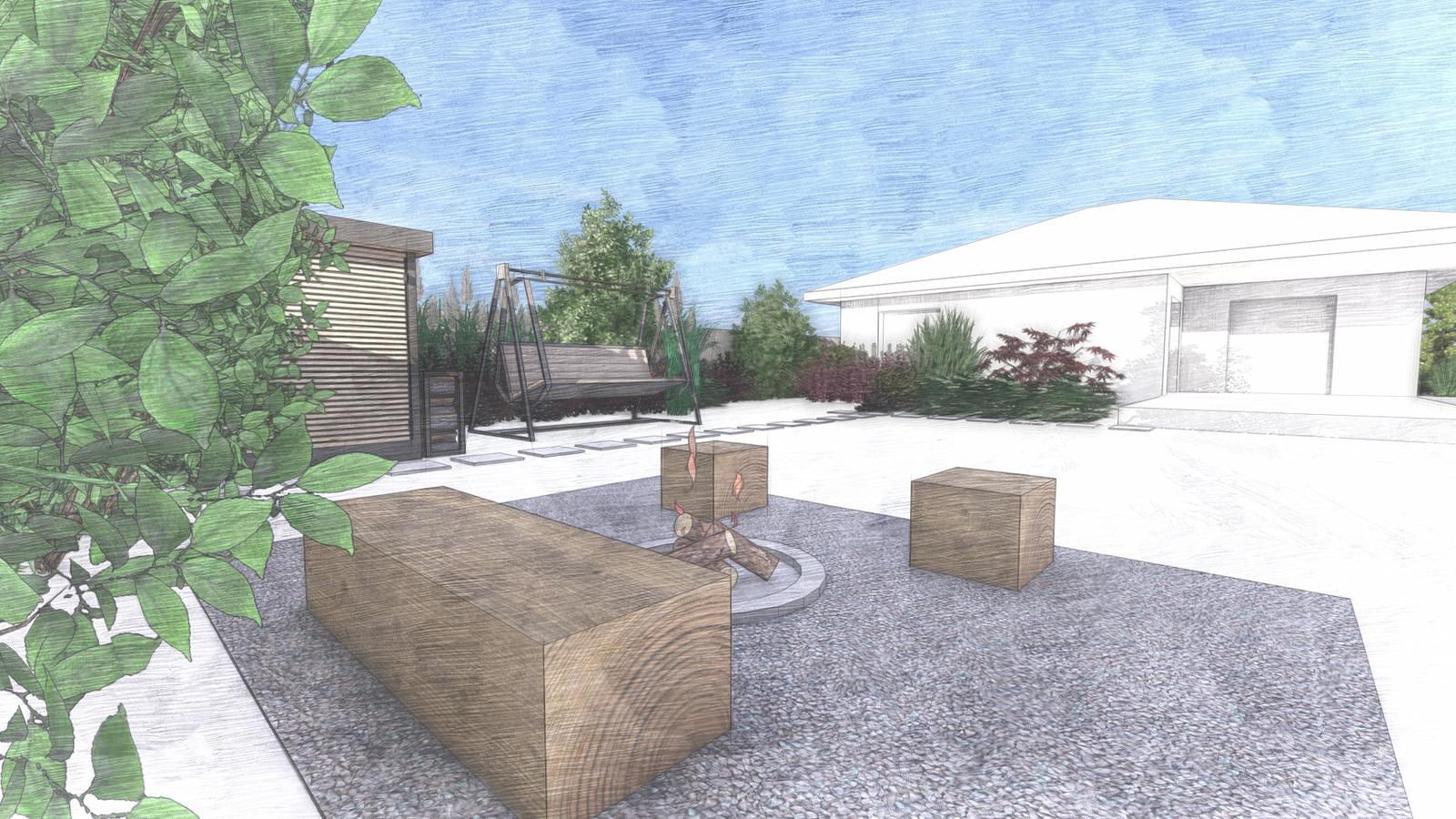 Návrh záhrady rodinného domu - Obrázok č. 19