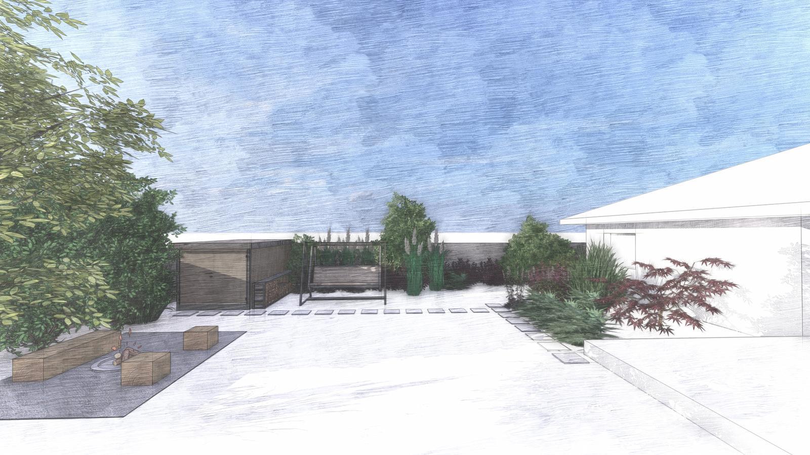 Návrh záhrady rodinného domu - Obrázok č. 20