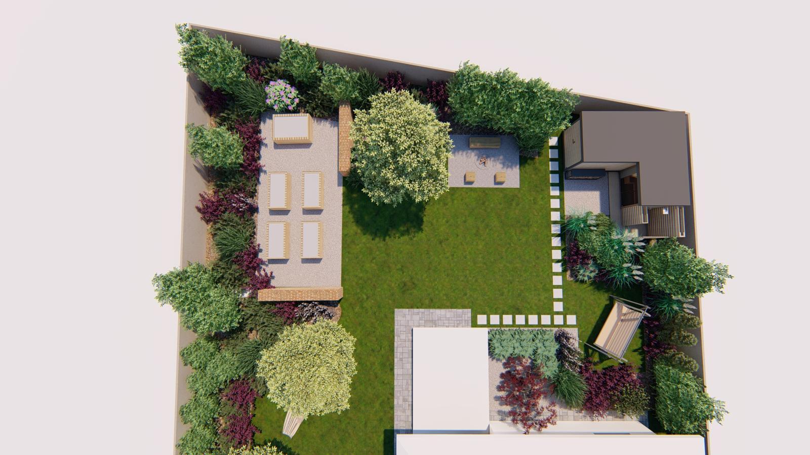 Návrh záhrady rodinného domu - Obrázok č. 24