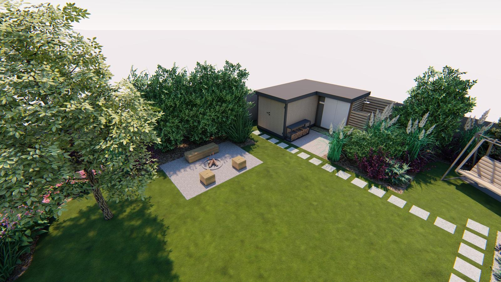 Návrh záhrady rodinného domu - Obrázok č. 25