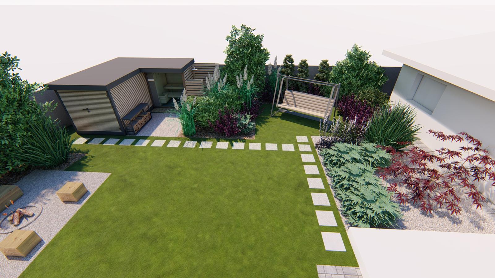 Návrh záhrady rodinného domu - Obrázok č. 26