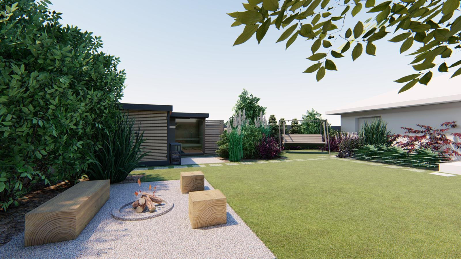 Návrh záhrady rodinného domu - Obrázok č. 27