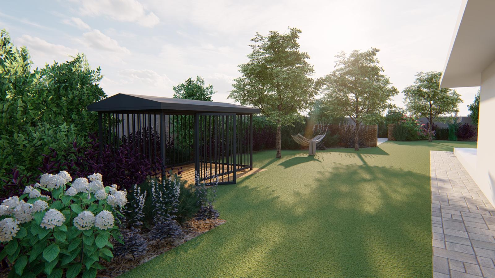 Návrh záhrady rodinného domu - Obrázok č. 31