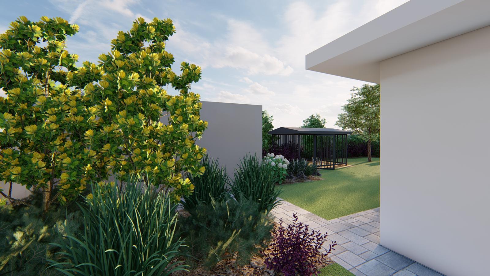 Návrh záhrady rodinného domu - Obrázok č. 33