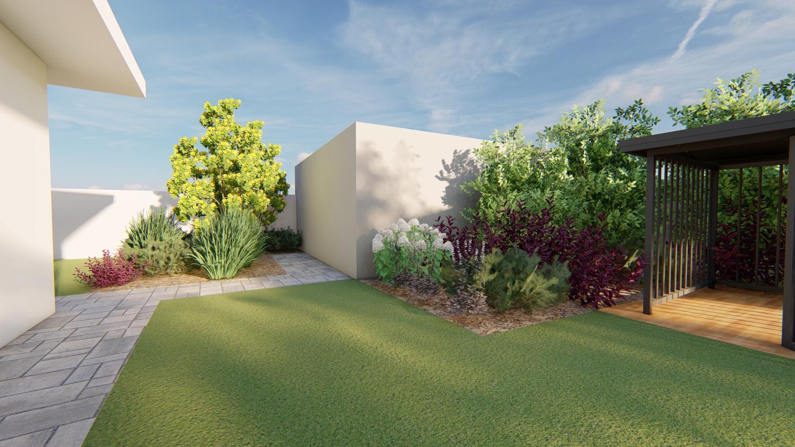 Návrh záhrady rodinného domu - Obrázok č. 34