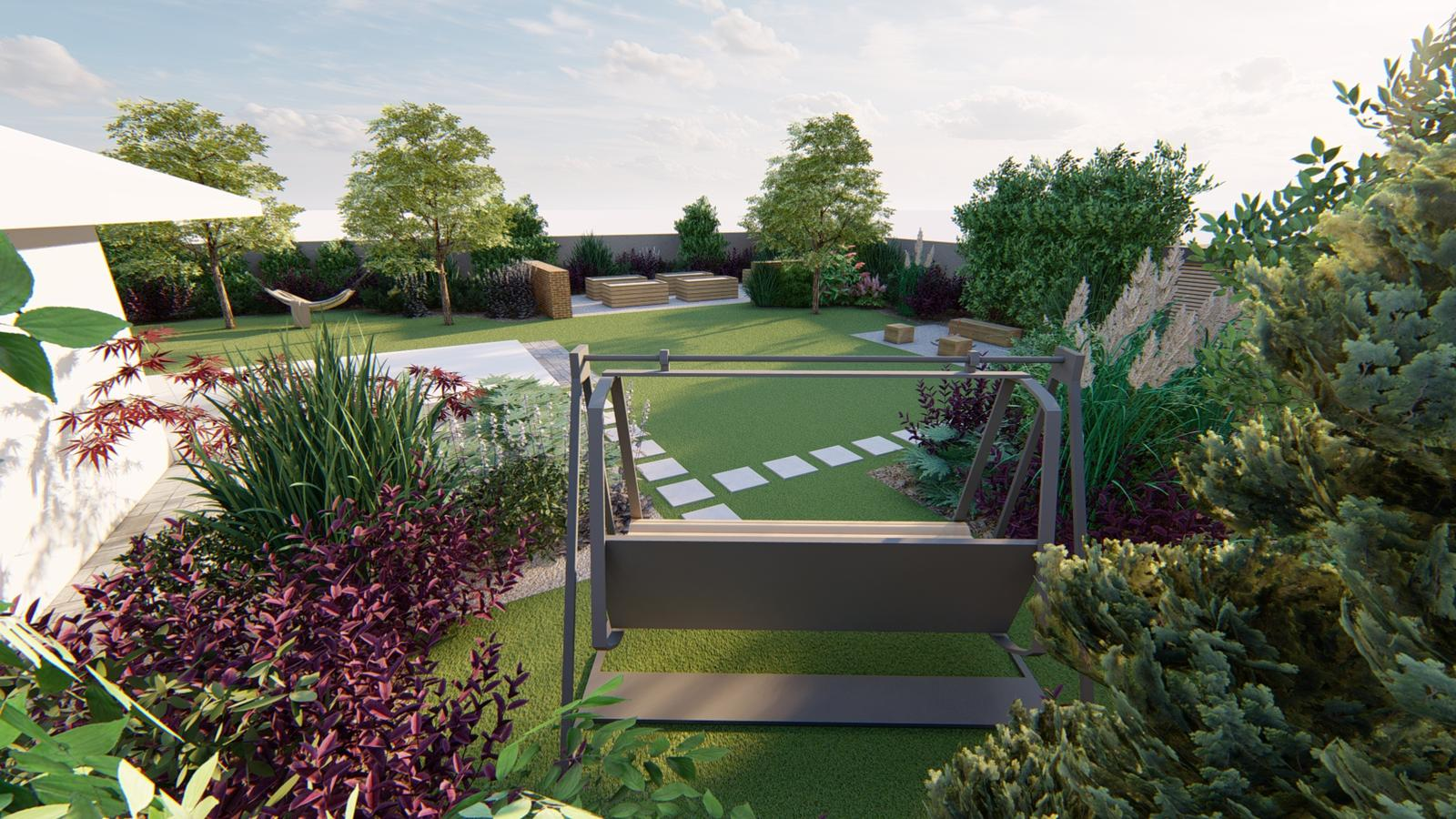 Návrh záhrady rodinného domu - Obrázok č. 35