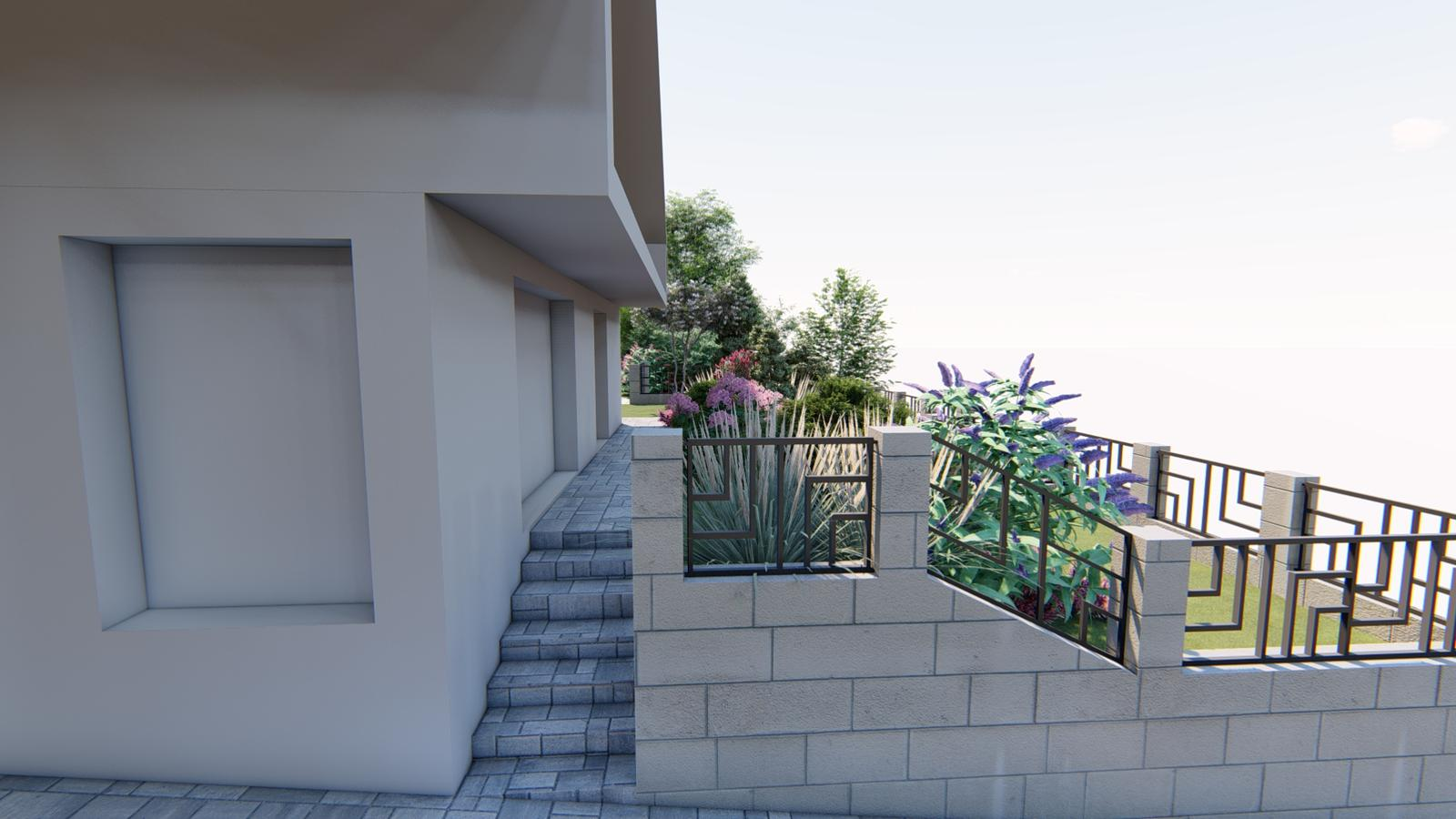 Návrh záhrady rodinného domu - Obrázok č. 8