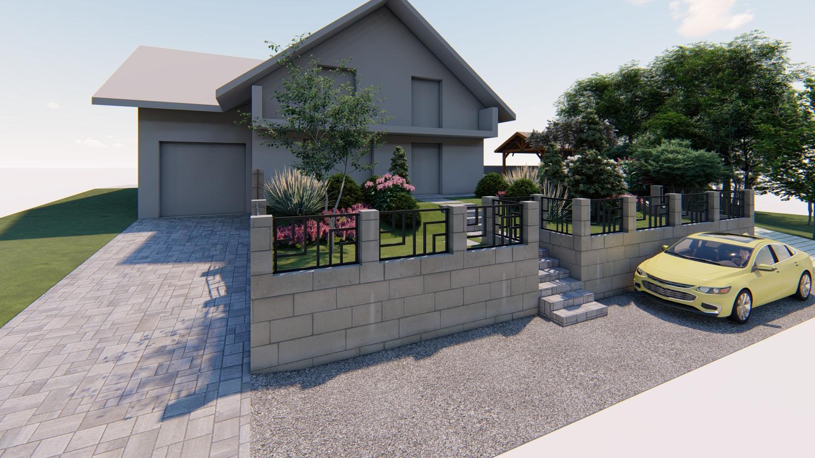 Návrh záhrady rodinného domu - Obrázok č. 10