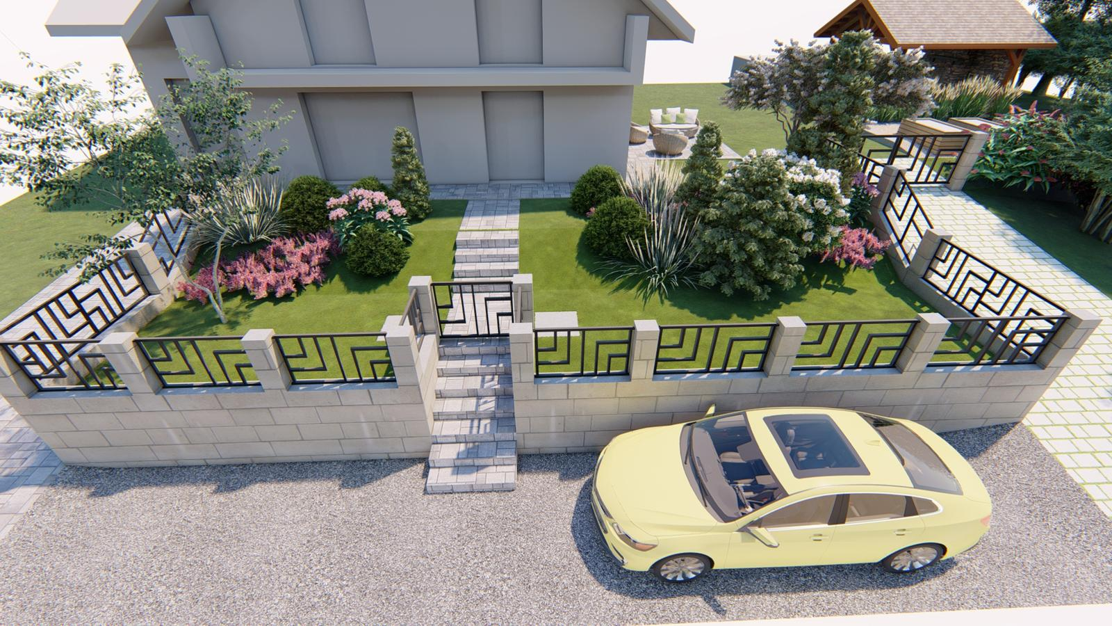 Návrh záhrady rodinného domu - Obrázok č. 11