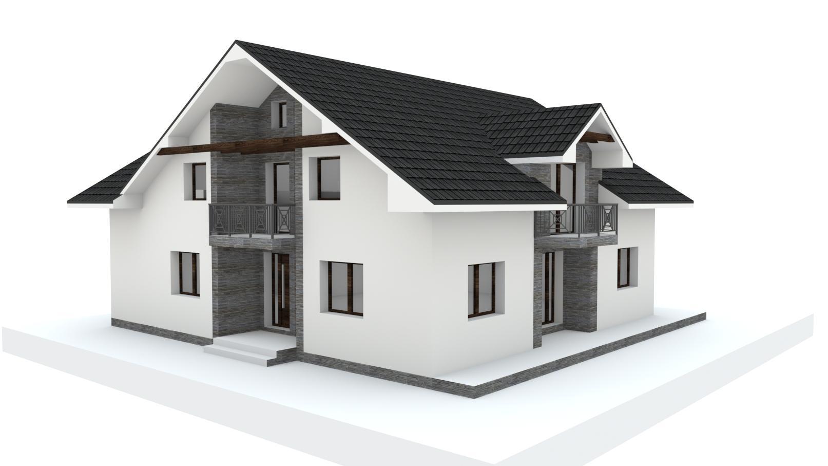 Návrh fasády, oprotenia, chodníkov a záhrady rodinného domu - Obrázok č. 13