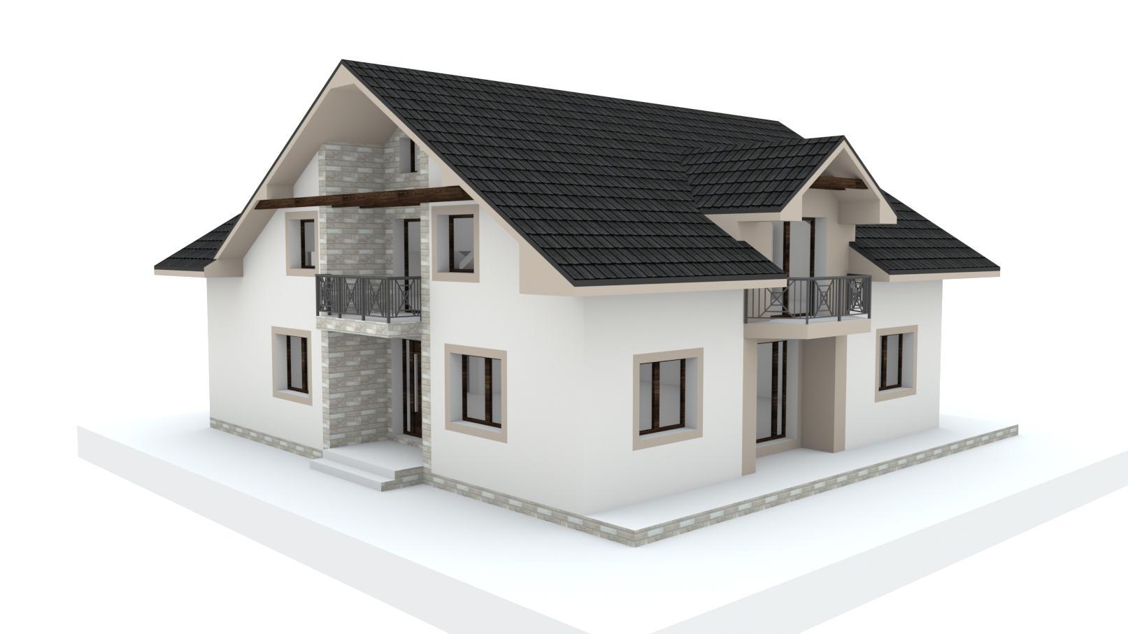 Návrh fasády, oprotenia, chodníkov a záhrady rodinného domu - Obrázok č. 27