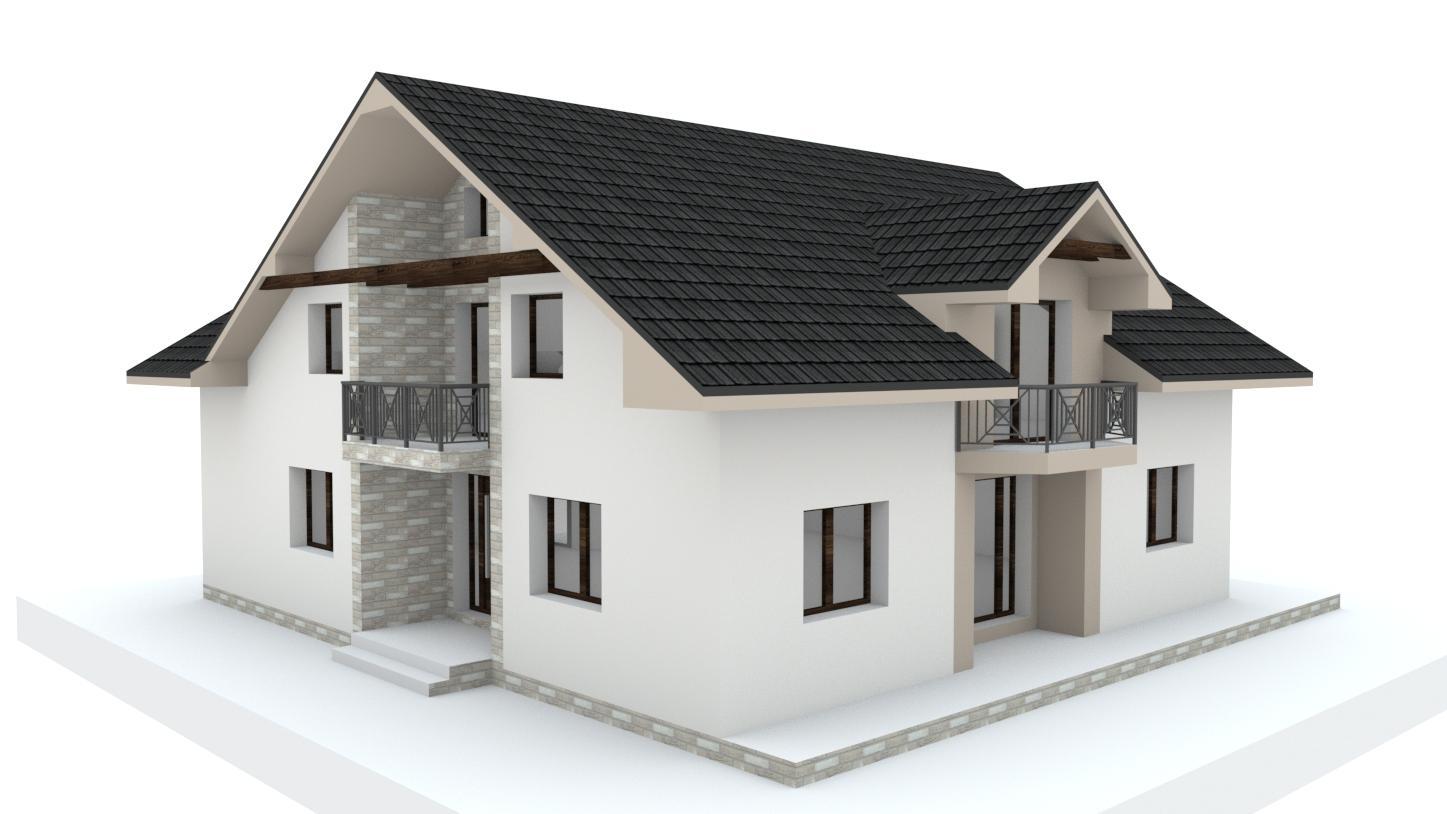 Návrh fasády, oprotenia, chodníkov a záhrady rodinného domu - Obrázok č. 24