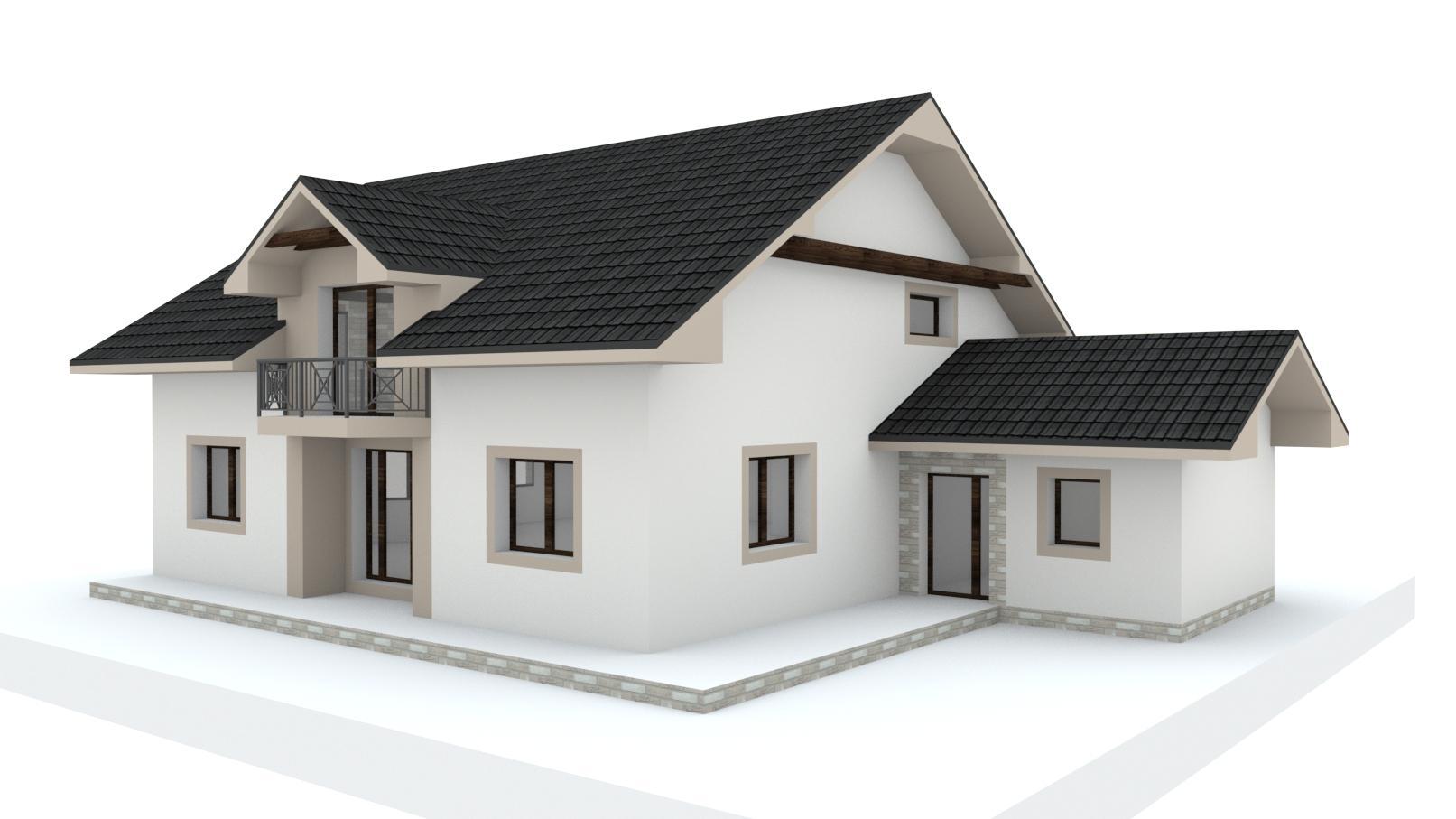 Návrh fasády, oprotenia, chodníkov a záhrady rodinného domu - Obrázok č. 28