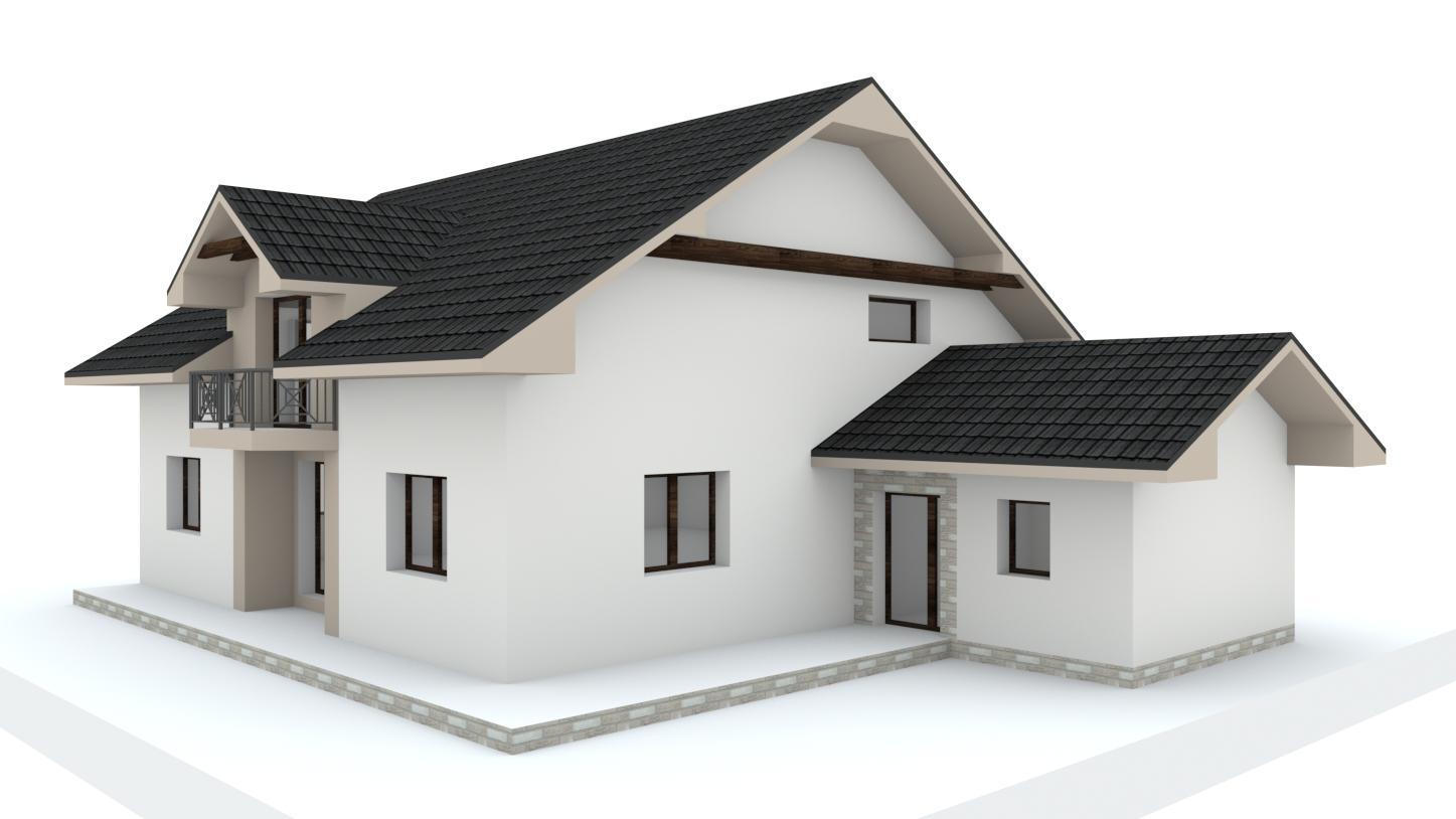 Návrh fasády, oprotenia, chodníkov a záhrady rodinného domu - Obrázok č. 21
