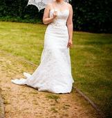 Krajkové šaty Maggie Sottero, 38