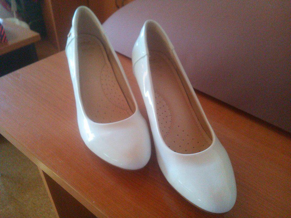 Prípravy v plnom prúde :-) - Svadobné topánky John Garfield