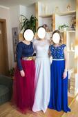 Dlhé spoločenské šaty s čipkou, 36