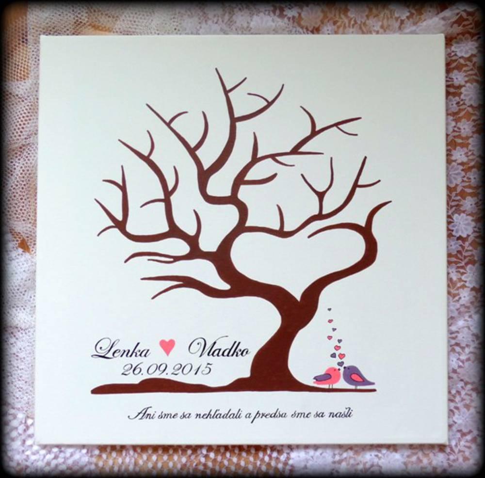 ♫ Keď sa sny plnia. . . ♫♪ - Náš svadobný strom doraziiiil :)